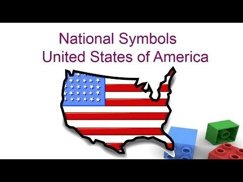National symbols of United states of America for kids - Preschool and Kindergarten children - YouTube