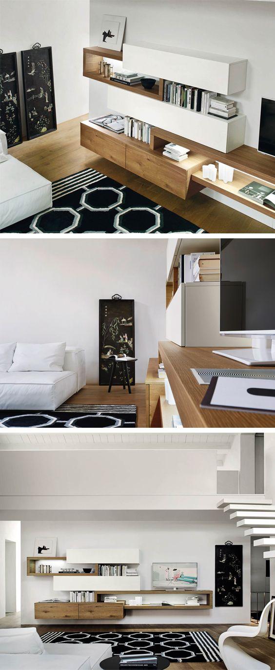 Livitalia Wohnwand C25 Tv Wohnwande Pinterest Wohnzimmer