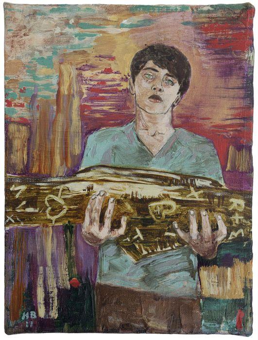hernan bas art | Hernan Bas, The Day the Love Tree Fell, 2011
