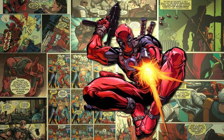 Deadpool Wade Winston Wilson Anti Hero Marvel Comics Mercenary Free Desktop Background