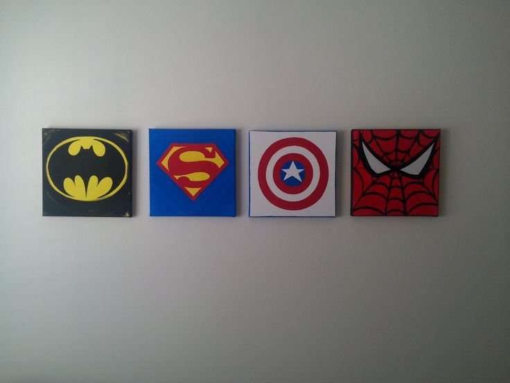canvas superheroes - Buscar con Google