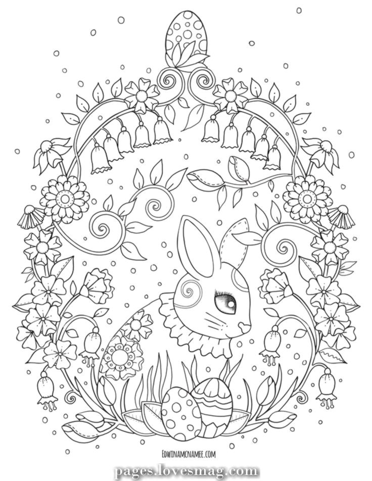 Luxurious Easter Coloring Pages Edwina Mc Namee Coloring Book Art Easter Coloring Book Easter Coloring Pages