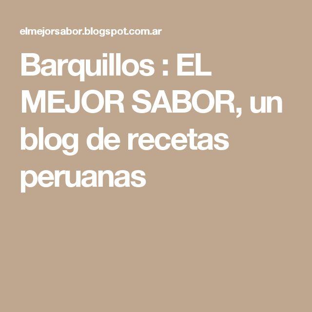 Barquillos         :          EL MEJOR SABOR, un blog de recetas peruanas
