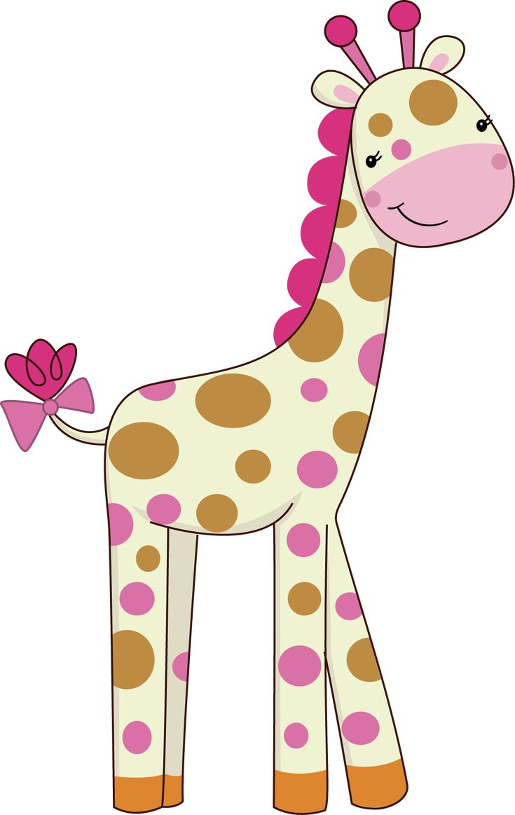 Pretty Pink Girly Jungle Animals - Pretty Pink Girly Jungle Animals_04.png - Minus