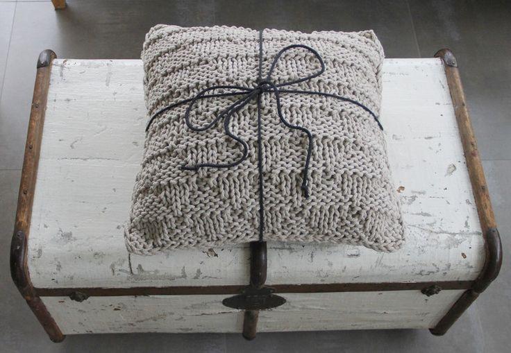 Poduszka zapachowa lawendowa XL - ManufakturaPracowniaArtystyczna - Poduszki