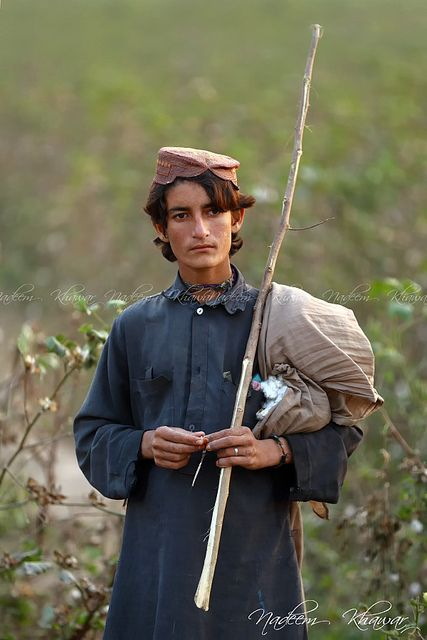 A Balochi shepherd, Pakistan. The.Baloch people live mainly in Iran, Afghanistan, and Pakistan.