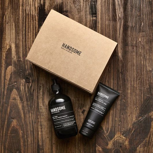Maybe the man in your life has a birthday coming up or maybe you'd just like to give him a gift for just being amazing….either way we know he'll love these all natural Handsome Grooming Products✖️ www.whiteandco.com.au