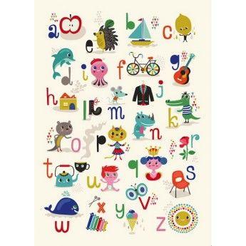 ABC Print by Helen Dardik