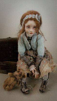 Helena Oplakanska, Artist, Doll's Creator, Odessa, Ukraine | THE BEAUTIFUL PEOPLE PROJECT