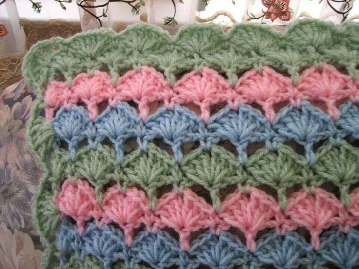 Mejores 74 imágenes de Crocheting en Pinterest | Afganos crochetados ...