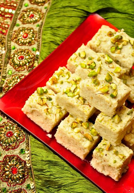 Life Scoops: Easy Kalakand (Sweetened Ricotta Cheese Squares)