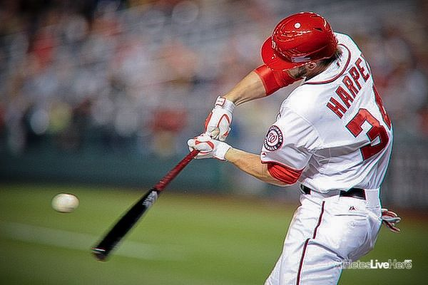 Bryce Harper, the left fielder for the Washington Nationals, is one of the most exciting young players in baseball. The 2012 Rookie of the Year at the tender age of 19 (his 2012 is one of the best seasons for a 19 year old in baseball history), Harper is a special player, a thrill to watch. At least he's supposed to be. Unfortunately for Nat's fans and baseball fans in general Bryce injured his left hand this week sliding into third base after a bases clearing triple.