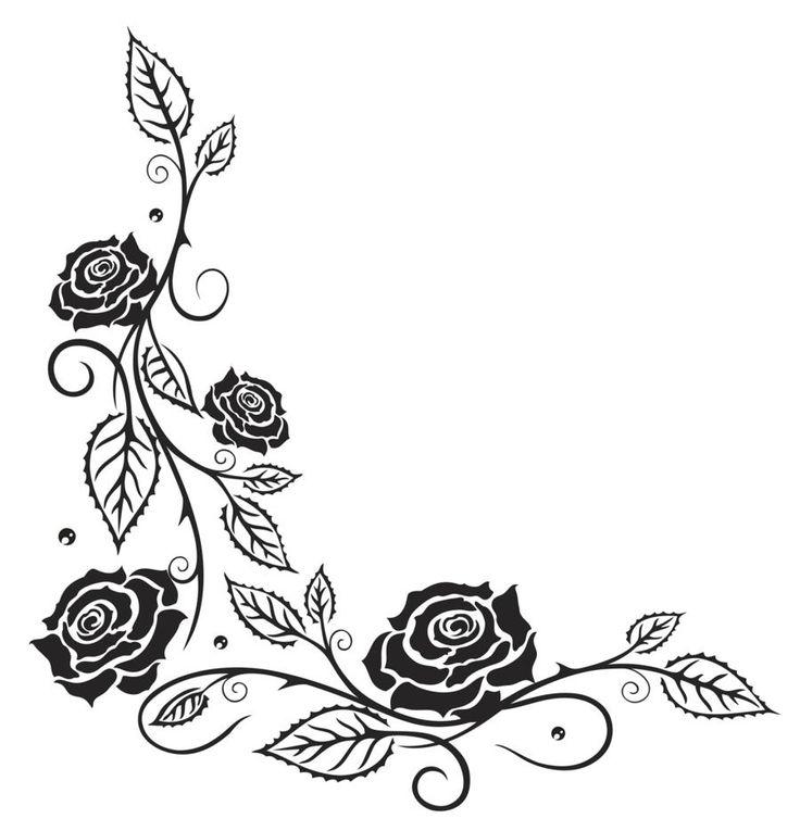 Rose Vine Tattoos
