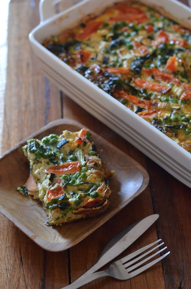 Dairy Free and Gluten Free Vegetable Frittata