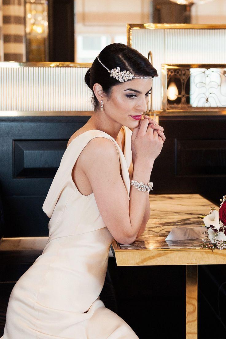 best wedding inspiration art deco images on pinterest short