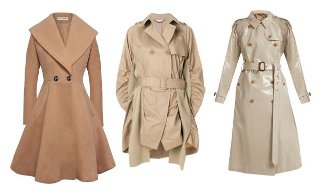 """trench coats"" by bloginprogresss on Polyvore featuring STELLA McCARTNEY and Burberry"