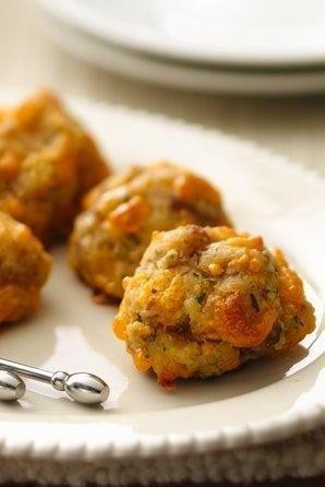 Gluten Free Sausage Cheese Balls - a holiday favorite!