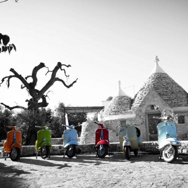 #Apulien auf der #Straße mit der #Vespa #Reisen #Tourismus #Pauschalreise #entdeckt #Kultur #Geschichte  #Urlaub