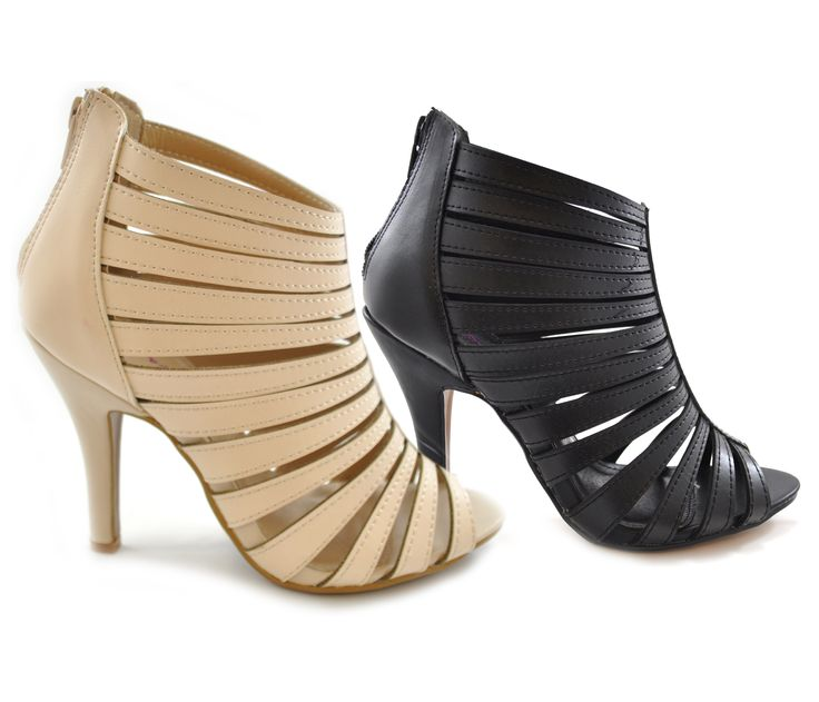 Another day another pair of shoes. Which outfit for which shoes? These shoes!! Dolcis high heel strappy peep toes for an evening out or on an occasion. Great detail with back zip and look damn hot!! www.shoesdays.co.uk