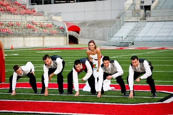 Ohio State Buckeyes Stadium: Ohio State Wedding, Photo Ideas, Wedding Photo, Dream Wedding, U.S. States, Wedding Pictures, Ohio State Football, Photography, Picture Ideas