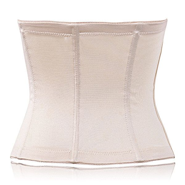Jacquard Tummy Control Body Shaper Breathable Waist Corset Girdle