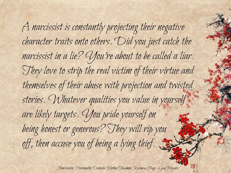 Who Has Narcissistic Personality Disorder | The Projection of the Narcissistic Personality Disordered Mother