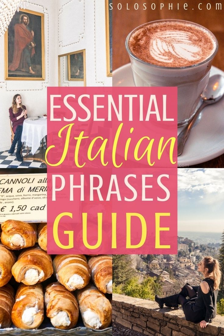 Beautiful Italian Phrases Guide How To Say Thank You In Italian