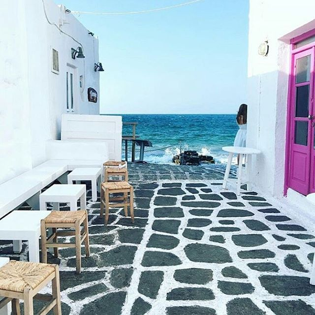 Paros ...Visit the picturesque city of #naousa, on #paros island!   By @travel_a_little_luxe. Congratulations