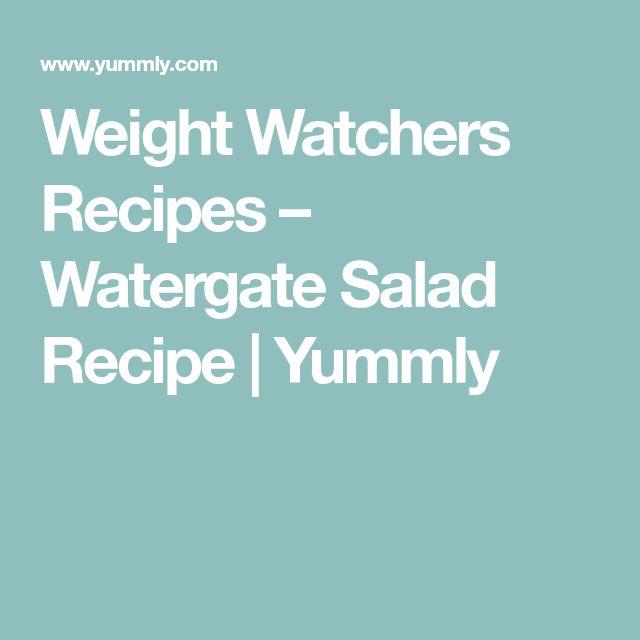 Weight Watchers Recipes – Watergate Salad Recipe | Yummly