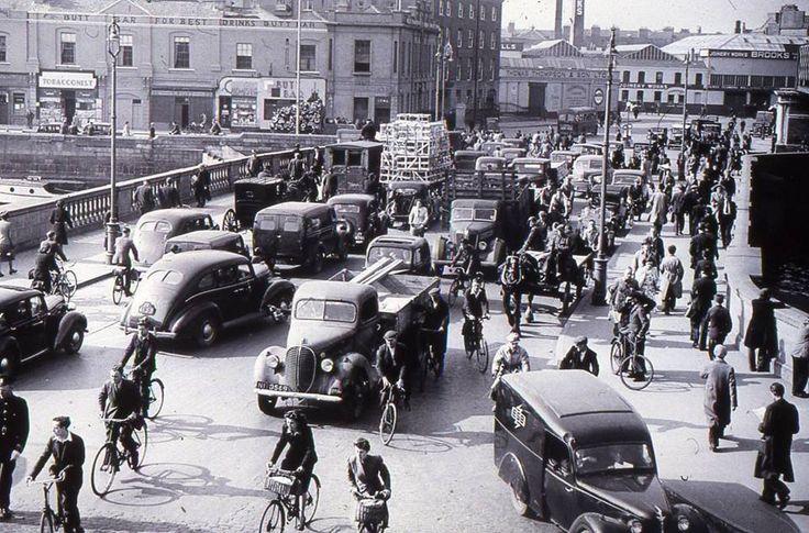 Butt Bridge Dublin 1940's