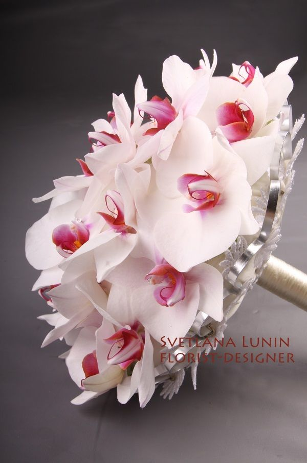 the wedding bouquet executed by Svetlana Lunin
