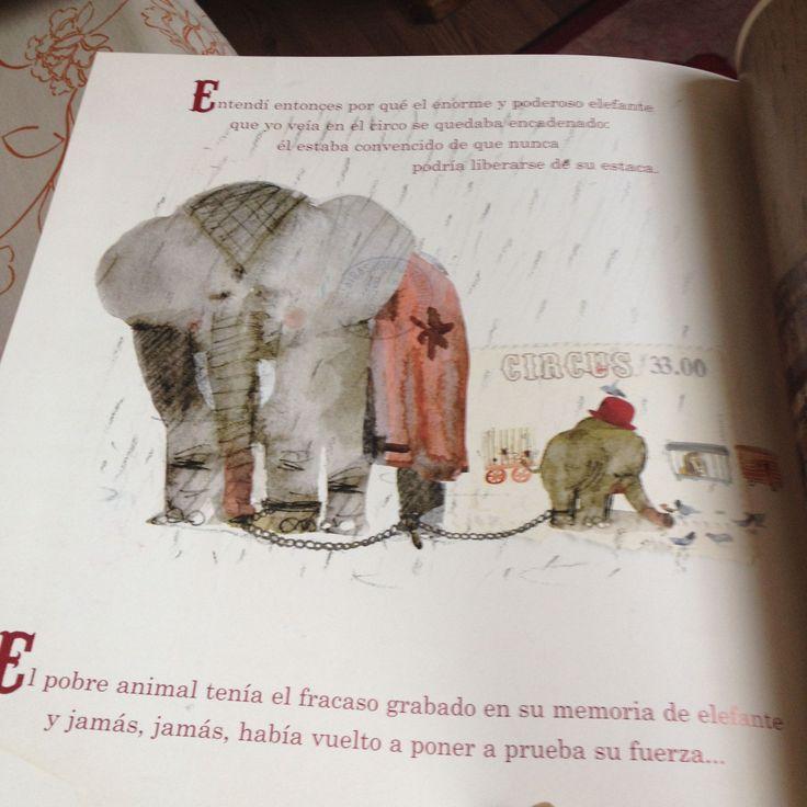 El Elefante Encadenado: ¿podemos liberarnos? Un libro de Jorge Bucay