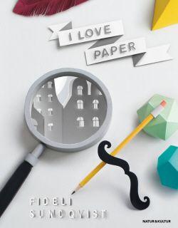 Gillar du att klippa i papper? Missa inte Fidelis bok om papperskonst