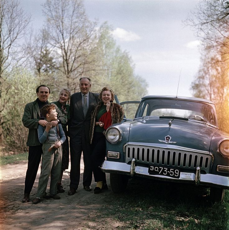 A family with a M21 in the Soviet Union - propaganda pictures