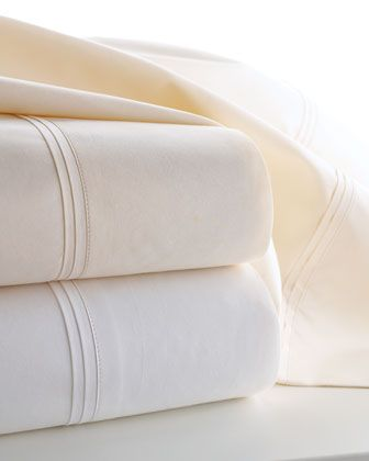 Marcus+Collection+Percale+Sheet+Sets+by+Matouk+at+Horchow.