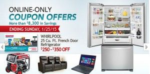 Costco Online-Only Deals end January 25th