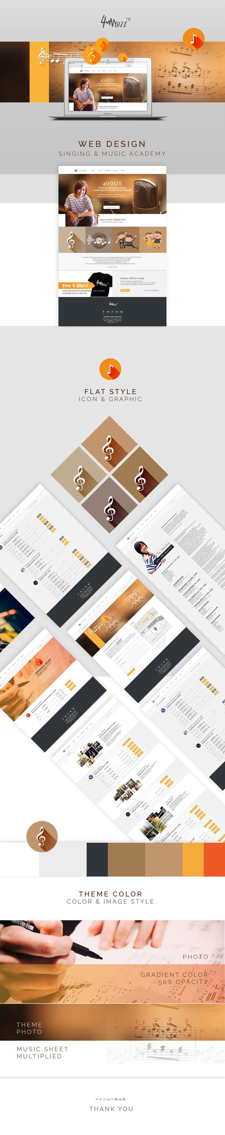 "Check out my @Behance project: ""4Voize -Web design"" https://www.behance.net/gallery/53531653/4Voize-Web-design"