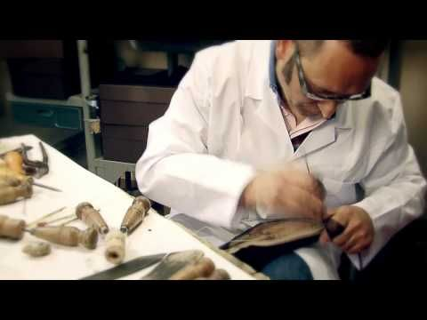 Sometimes seeing how something is made makes you appreciate the quality and price.  The making of a men's Louis Vuitton shoe in Fiesso d'Artico's workshops.