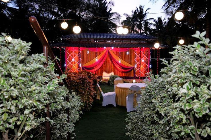 The Garden Of S Elements Bangalore Outdoor Wedding Venue Lighting Pinterest