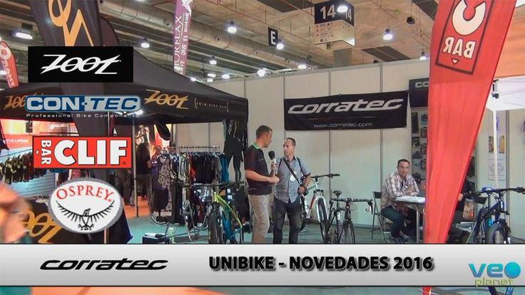 Merkabici Bicicletas Corratec, Clif Bar, mochilas Osprey, accesorios CONTEC y Zoot Novedades 2016