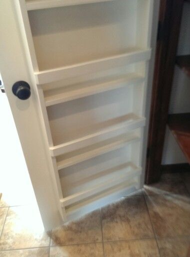 Spice Rack Built On Back Of Pantry Door Give Me A