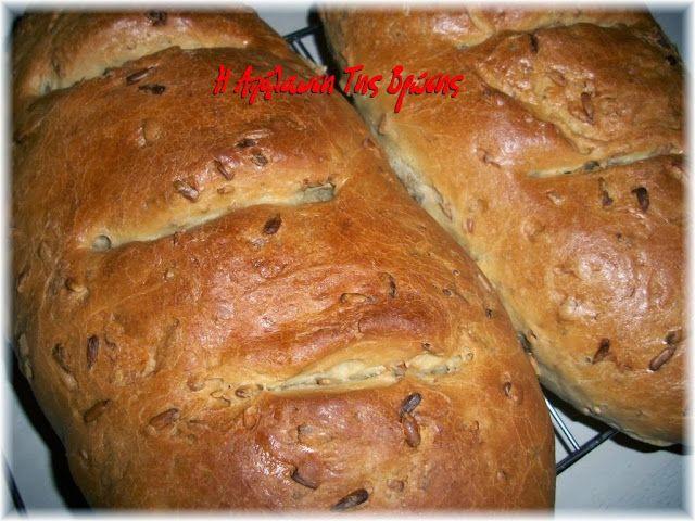 Η απόλαυση της βρώσης: Ψωμί με σπόρους χωρίς ζύμωμα