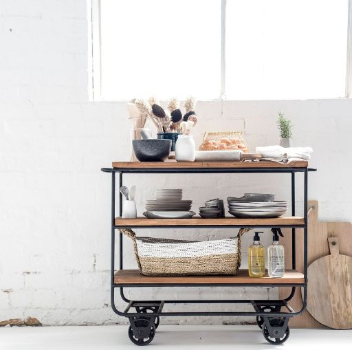 Kitchen storage solutions by The Image Takers for Bloom & Co. #melbourne #homewares #living #kitchen #beautiful #warehouse #shelving #inspo #vignette #photography ©The Image Takers