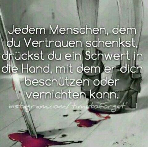 ... (Das traurigste an Verrat ist das er nie von Feinden kommt...)