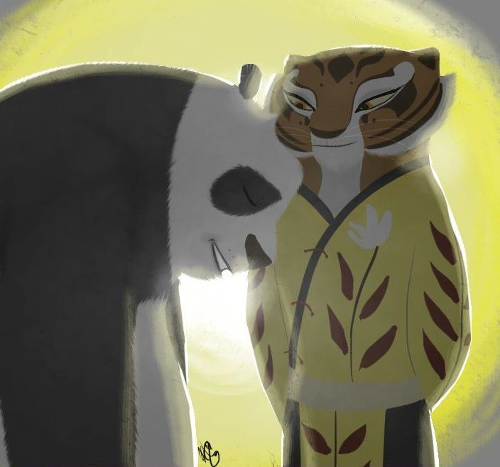 32 best images about Po x Tigress on Pinterest | Fields