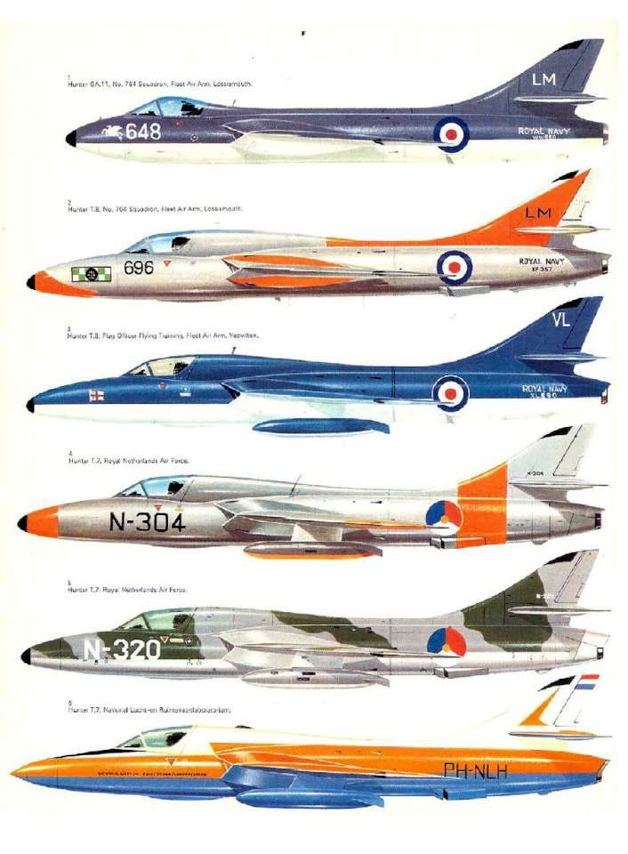 26 Hawker Hunter Page 32-960