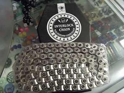 Chains 42320: Shadow Conspiracy Interlock V2 1/2 X 1/8 Silver Bmx Bicycle Halflink Chain BUY IT NOW ONLY: $33.95