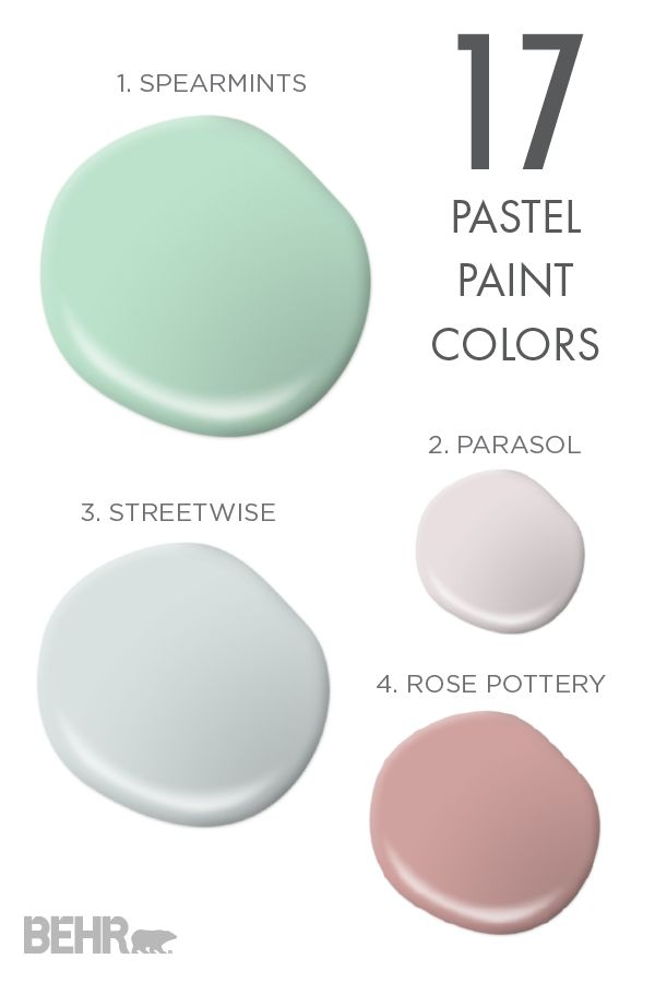 Pastel Paint Colors Custom 76 Best Pastel Decor Inspiration Images On Pinterest  Pastel . Inspiration Design