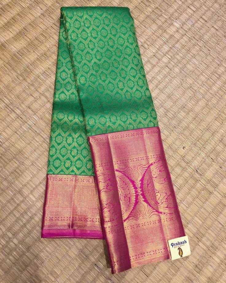 Traditional silk saree from Prakashsilks.