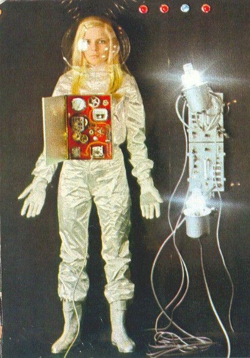 Retro-Futuristic, Sci-Fi Girl, France Gall